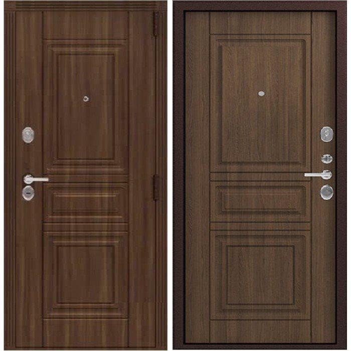 Дверь стальная ЦЕНТУРИОН LUX-4 МДФ-МДФ (вайлд - миндаль)